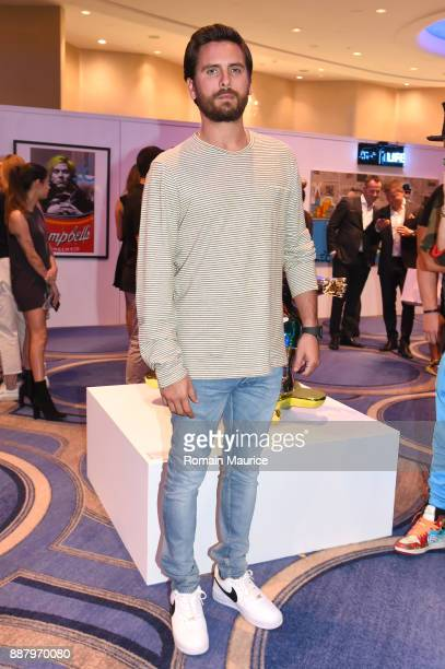 Scott Disick attends Haute Living's VIP PopUp opening of Alec Monopoly from Art Life and David Yarrow from Maddox Gallery at Fleur De Lis Ballroom...