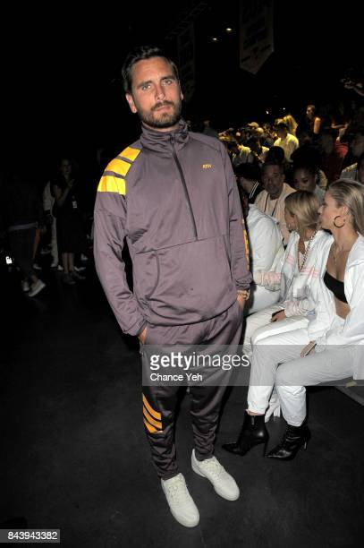 Scott Disick attends Kith Sport fashion show during New York Fashion Week at the Classic Car Club on September 7 2017 in New York City
