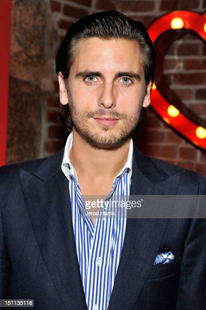 Scott Disick hosts labor day weekend at Pussycat Dolls Dollhouse on September 1 2012 in San Diego California
