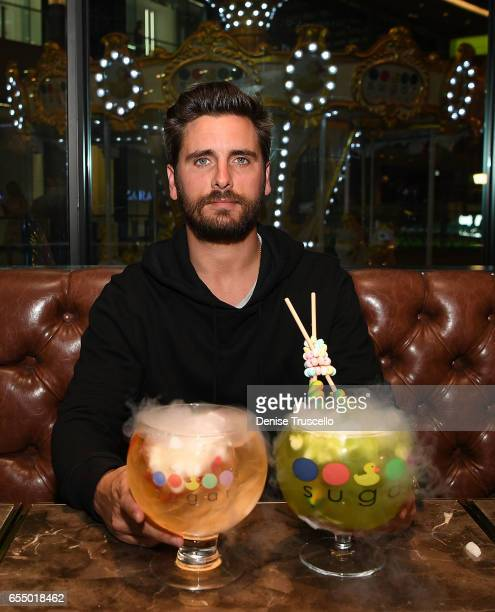 Scott Disick hosts Sugar Factory Las Vegas Grand Opening on March 18 2017 in Las Vegas NV