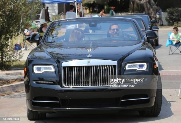 Scott Disick is seen on September 2 2017 in Los Angeles California