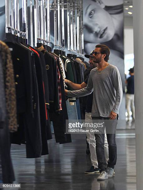 Scott Disick is seen on September 20 2016 in Los Angeles California