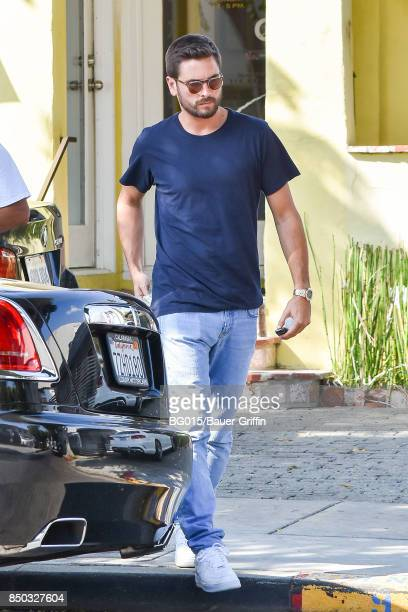 Scott Disick is seen on September 20 2017 in Los Angeles California