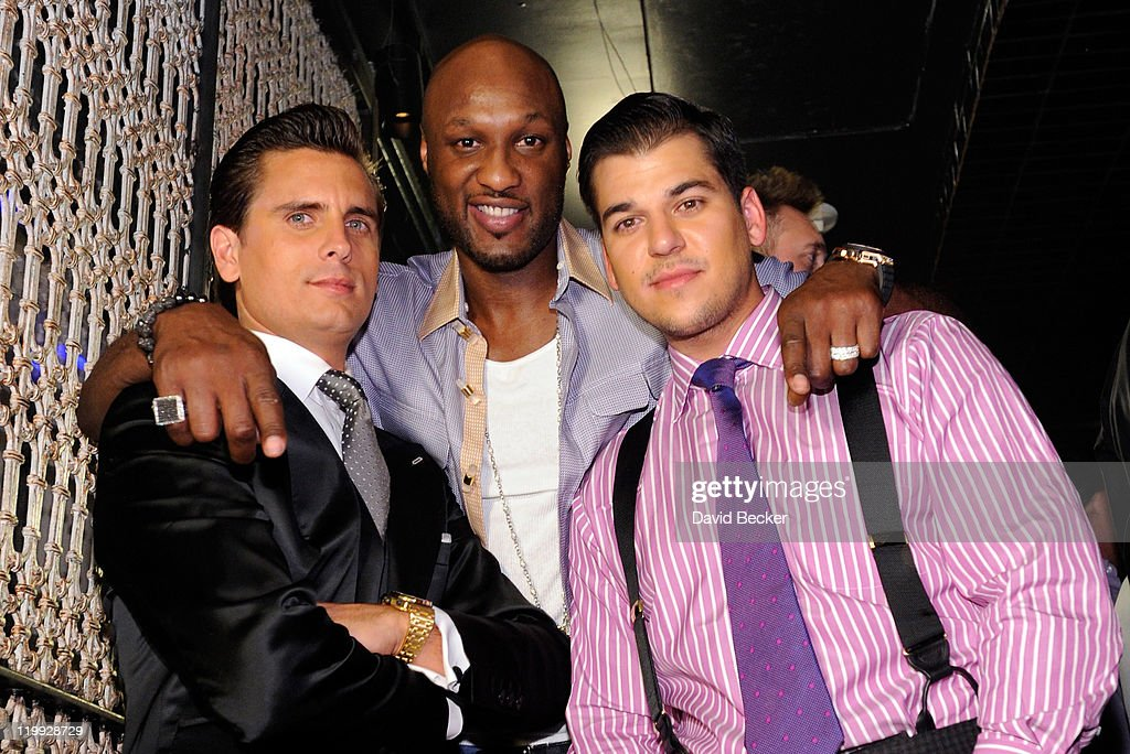 Kris Humphries Celebrates His Bachelor Party at LAVO : News Photo