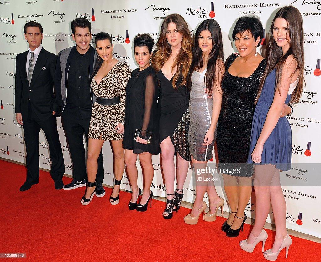 Scott Disick Robert Kardashian Kim Kardashian Kourtney Kardashian News Photo Getty Images