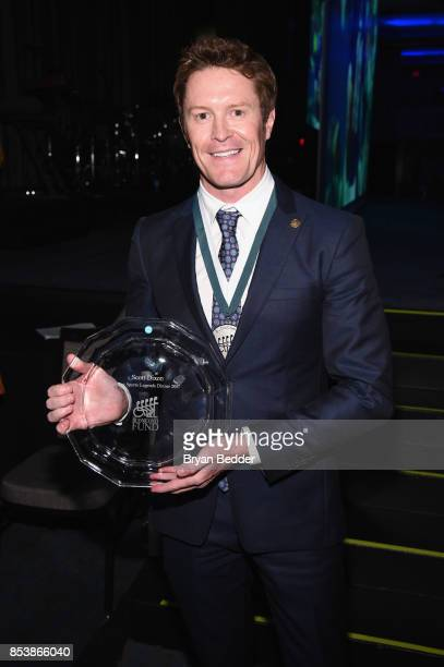 Scott Dixon attends the 32nd Annual Great Sports Legends Dinner To Benefit The Miami Project/Buoniconti Fund To Cure Paralysis at New York Hilton...