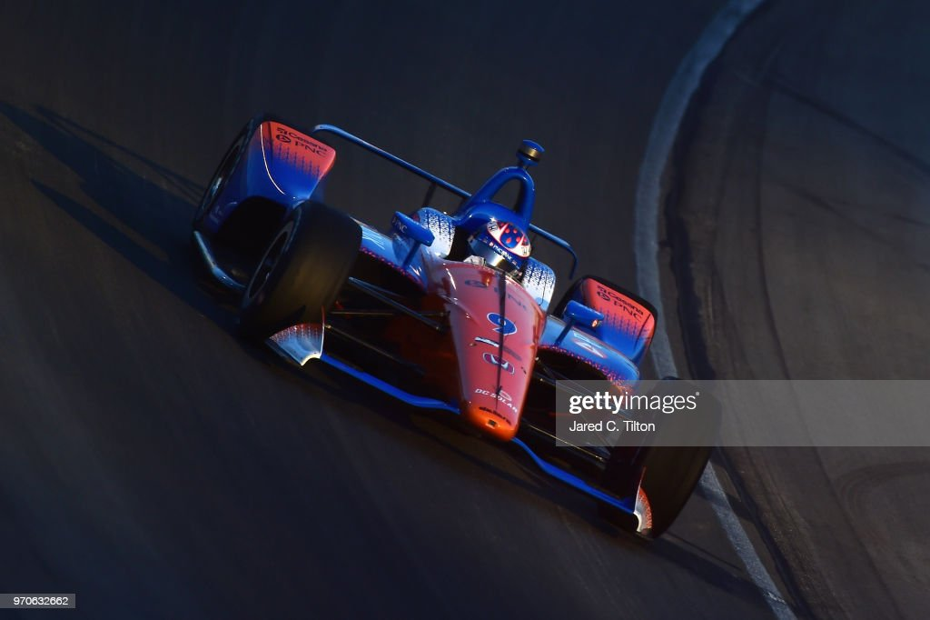 Verizon IndyCar Series - DXC Technology 600 : News Photo
