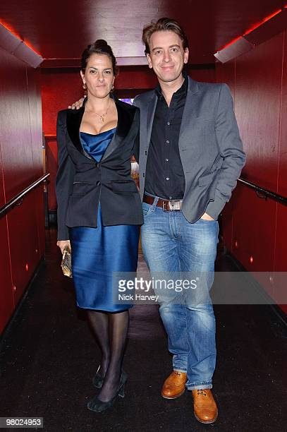 Scott Douglas and Tracey Emin attend The ICA Fundraising Gala at KOKO on March 24, 2010 in London, England.