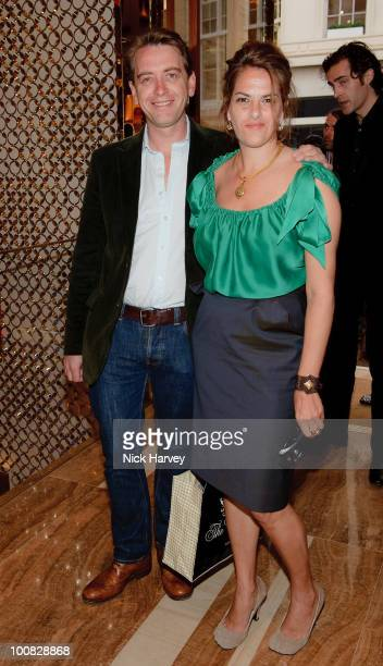 Scott Douglas and Tracey Emin attend the launch of the Louis Vuitton Bond Street Maison on May 25 2010 in London England