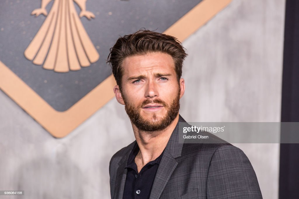 Scott Eastwood arrives to Universal's 'Pacific Rim Uprising' premiere at TCL Chinese Theatre IMAX on March 21, 2018 in Hollywood, California.
