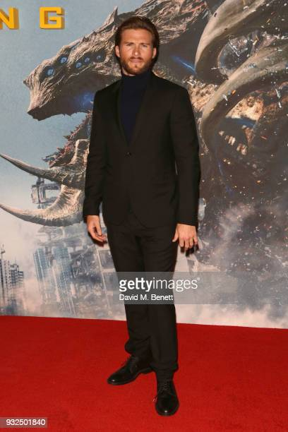 Scott Eastwood attends a special screening of 'Pacific Rim Uprising' at Vue West End on March 15 2018 in London England