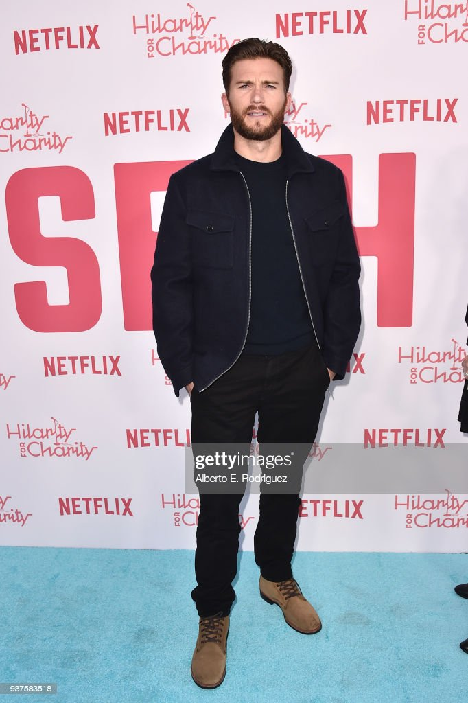 Scott Eastwood attends the 6th Annual Hilarity For Charity at The Hollywood Palladium on March 24, 2018 in Los Angeles, California.