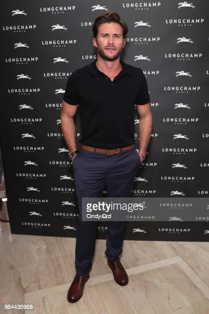 Scott Eastwood attends the opening of Longchamp Fifth Avenue Flagship at Longchamp on May 3 2018 in New York City