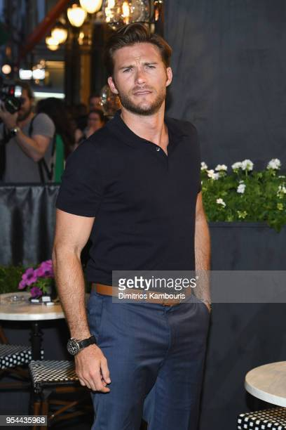 Scott Eastwood attends the opening of the Longchamp Fifth Avenue Flagship at Longchamp on May 3 2018 in New York City