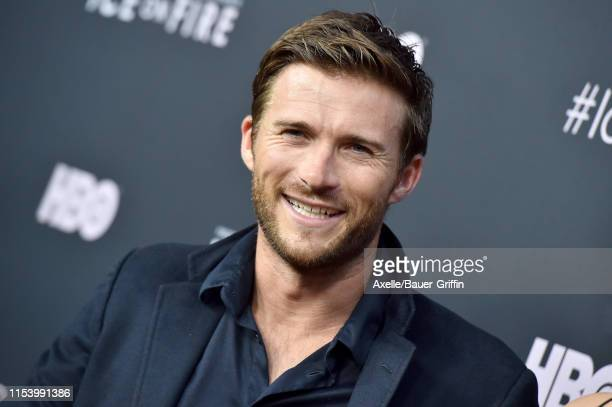 Scott Eastwood attends the LA Premiere of HBO's Ice on Fire at LACMA on June 05 2019 in Los Angeles California