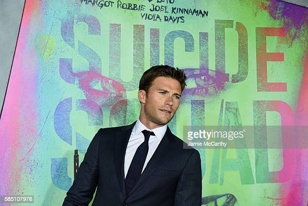 """Scott Eastwood attends the """"Suicide Squad"""" World Premiere at The Beacon Theatre on August 1, 2016 in New York City."""