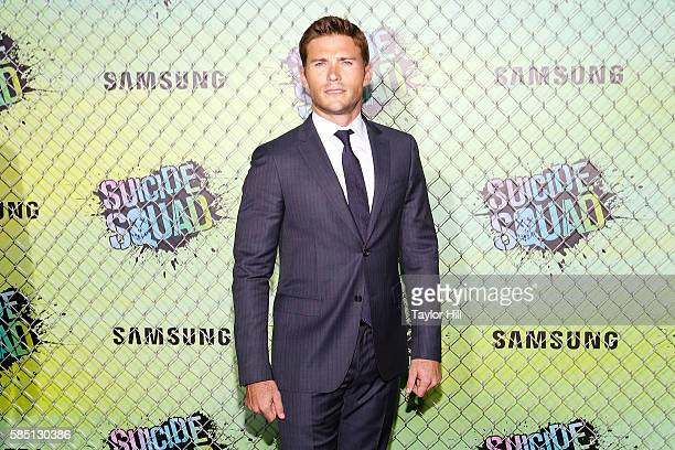 """Scott Eastwood attends the world premiere of """"Suicide Squad"""" at The Beacon Theatre on August 1, 2016 in New York City."""