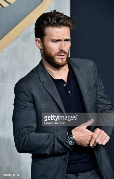 Scott Eastwood attends Universal's Pacific Rim Uprising Premiere at TCL Chinese Theatre IMAX on March 21 2018 in Hollywood California