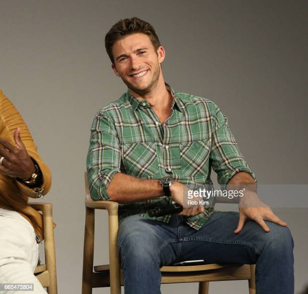 Scott Eastwood discusses 'The Fate Of The Furious' at Apple Store Soho on April 6 2017 in New York City
