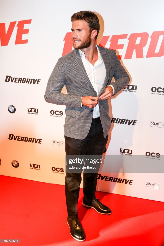 Scott Eastwood, during the 'Overdrive' Paris Premiere photocall at Cinema Gaumont Capucine on June 19, 2017 in Paris, France.
