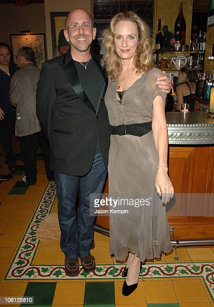 Scott Elliott and Lisa Emery during The Prime of Miss Jean Brodie Party at Pigalle October 9 2006 at Pigalle in New York City New York United States