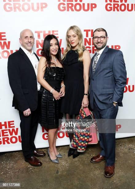 Scott Elliott Kumiko Yoshii Chloe Sevigny and Adam BernsteinÊattend The New Group 2018 Gala at Tribeca Rooftop on March 12 2018 in New York City
