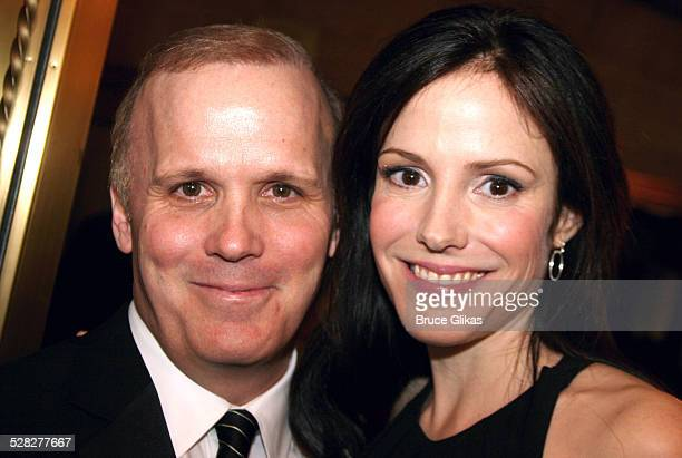 Scott Ellis, director and Mary Louise Parker during Curtains Broadway Opening Night - Arrivals - March 22, 2007 at Hirschfeld Theatre in New York...
