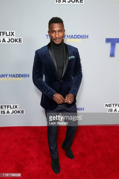Scott Evans attends Tiffany Haddish Black Mitzvah at SLS Hotel on December 03, 2019 in Beverly Hills, California.