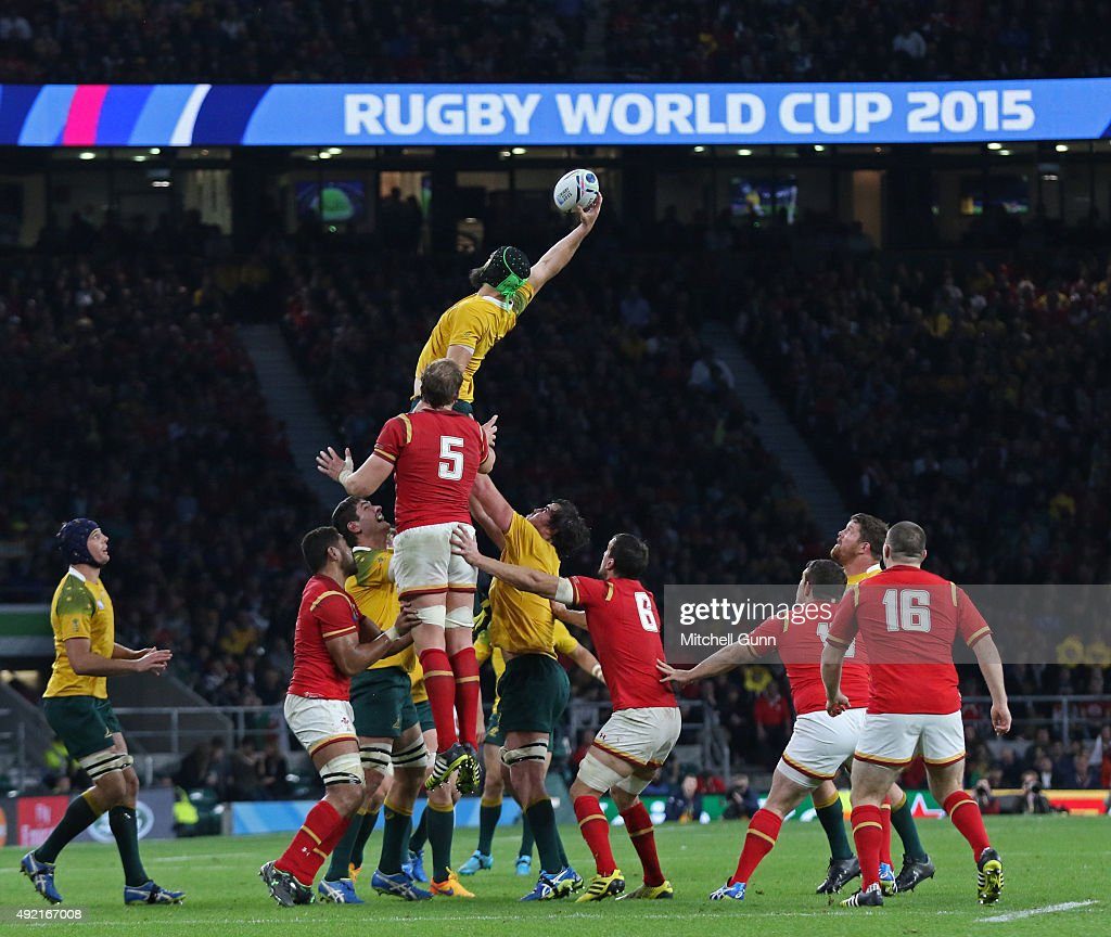 Australia v Wales - Group A: Rugby World Cup 2015 : News Photo