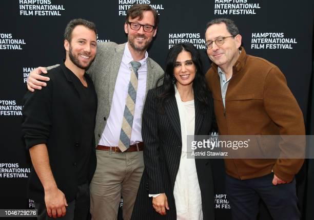 Scott Feinstein Artistic Director to Hamptons International Film Festival David Nugent director Nadine Labiki and Michael Barker attend the photo...