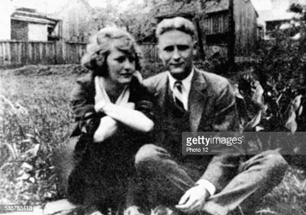 Scott Fitzgerald and Zelda at Montgomery United States Paris Centre Benjamin Franklin