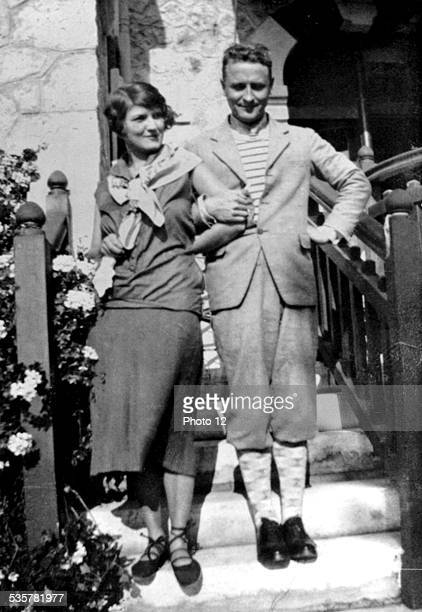 Scott Fitzgerald with Zelda on the French Riviera, , Italy.