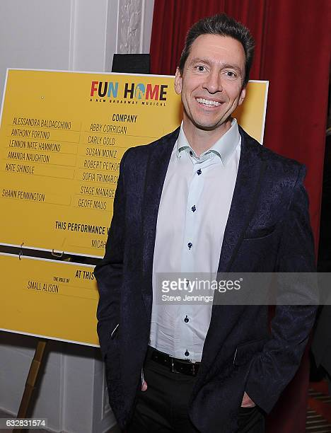 Scott Forstall attends the ReOpening of the Curran Theater with the Tony Award Winning Best Musical Fun Home on January 26 2017 in San Francisco...