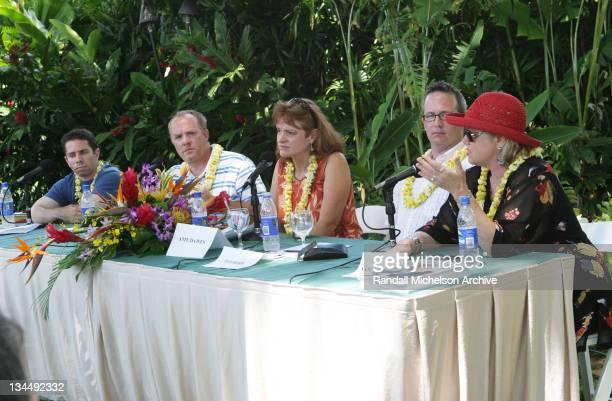 Scott Foundas, Cassian Elwes, Amy Dawes, Ted Hope and Nancy Bishop