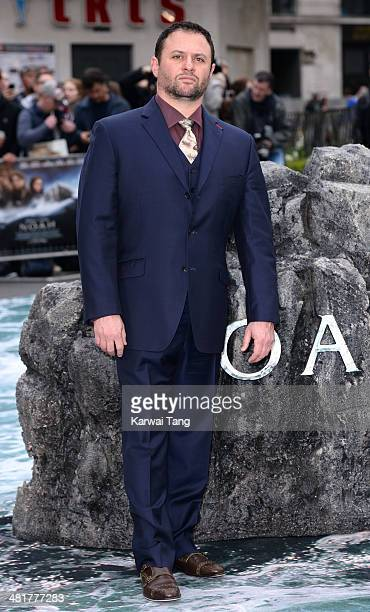 Scott Franklin attends the UK premiere of 'Noah' held at the Odeon Leicester Square on March 31 2014 in London England