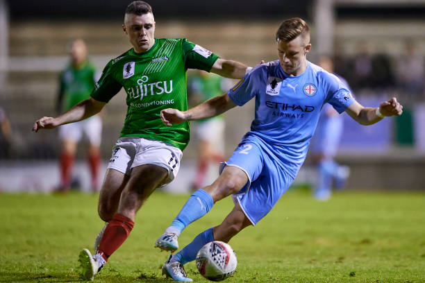 AUS: FFA Cup Round of 16 - Marconi Stallions v Melbourne City