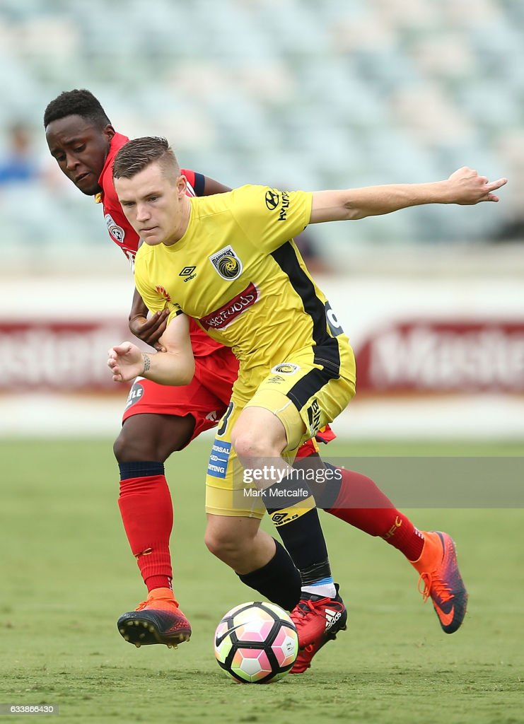 A-League Rd 18 - Central Coast v Adelaide