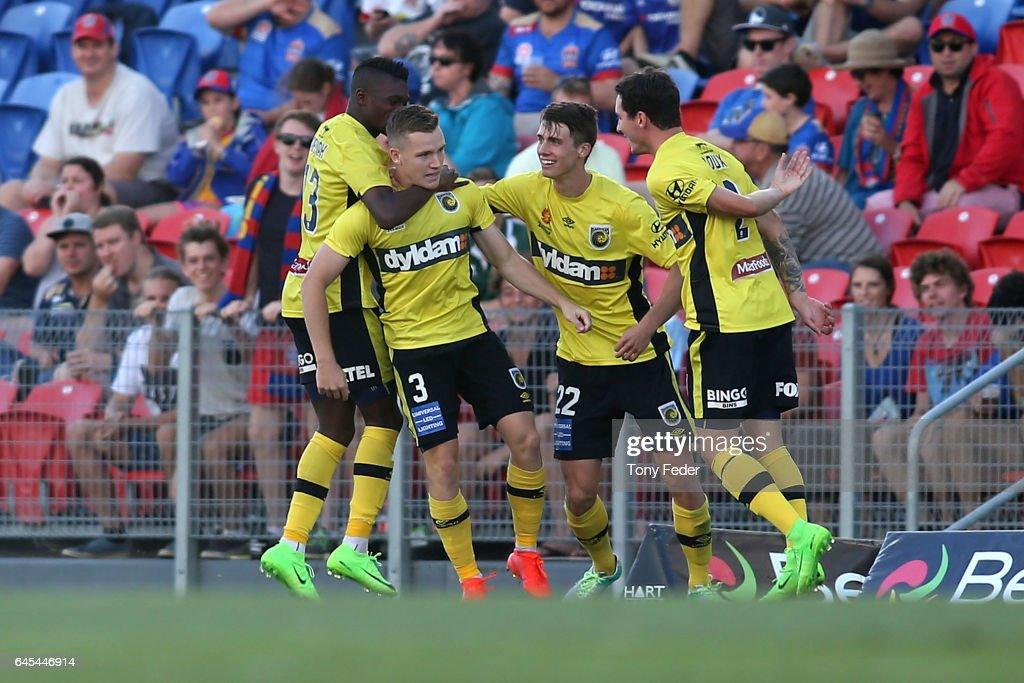 A-League Rd 21 - Newcastle v Central Coast