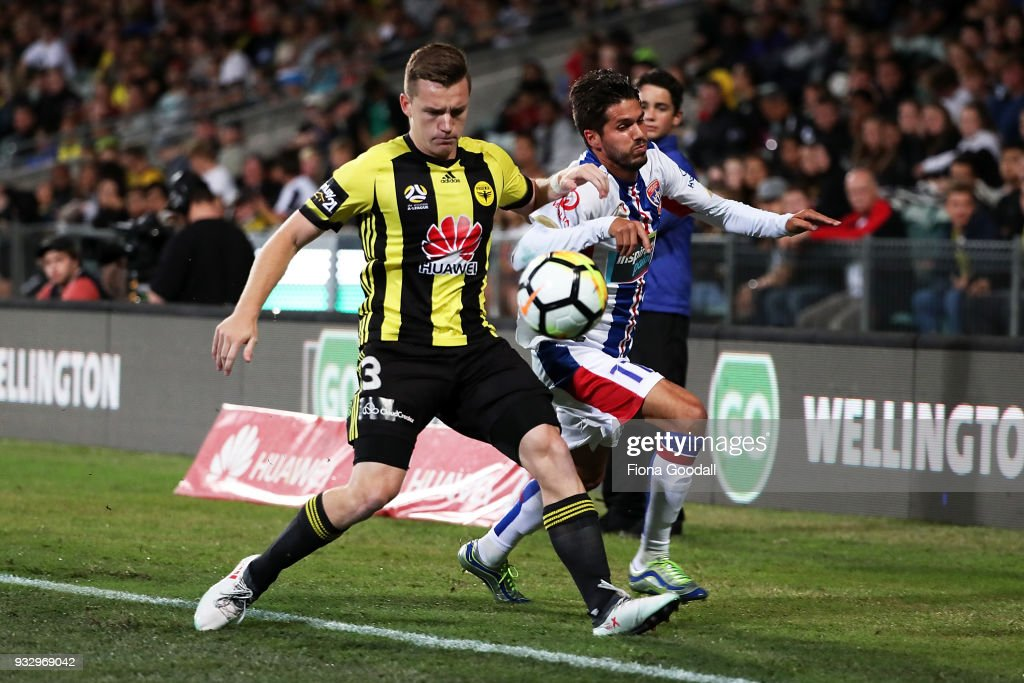 A-League Rd 23 - Wellington v Newcastle