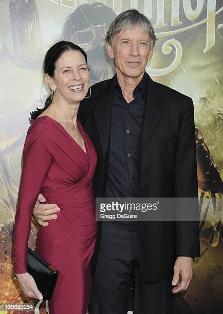 Scott Glenn and Carol Schwartz arrive at the Los Angeles Premiere of Sucker Punch at Grauman's Chinese Theatre on March 23 2011 in Hollywood...