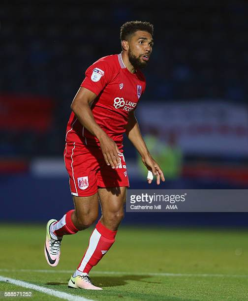 Scott Golbourne of Bristol City during the EFL Cup match between Wycombe Wanderers and Bristol City at Adams Park on August 8 2016 in High Wycombe...