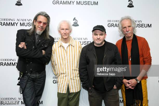 Scott Goldman Robby Krieger Justin Kreutzmann and John Densmore attend Reel To Reel The Doors Break On Thru – A Celebration Of Ray Manzarek at the...