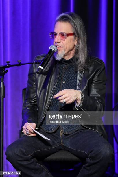 Scott Goldman speaks onstage at Reel To Reel: Long Live Rock…Celebrating The Chaos at the GRAMMY Museum on February 05, 2020 in Los Angeles,...