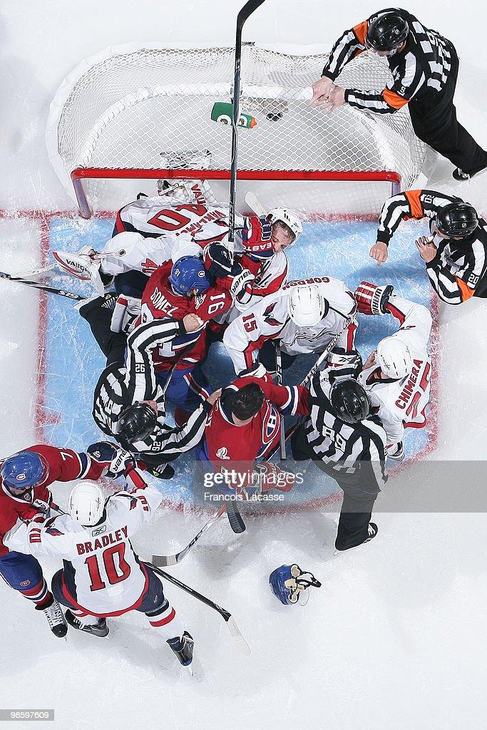 Washington Capitals v Montreal Canadians - Game Four