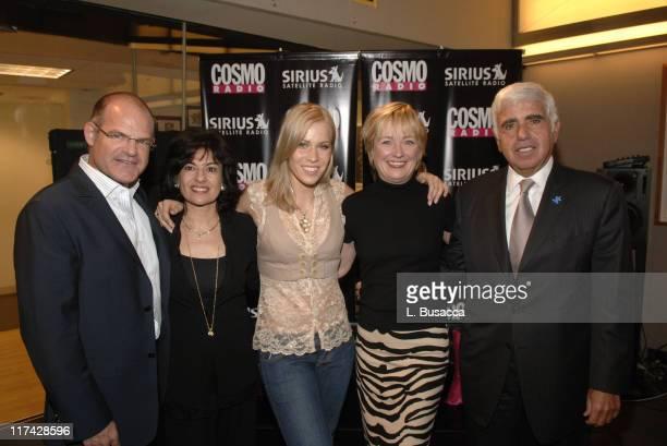 Scott Greenstein President of Entertainment and Sports Sirius Satellite Radio Donna Kalajian Lagani Publicity Director Cosmopolitan Natasha...