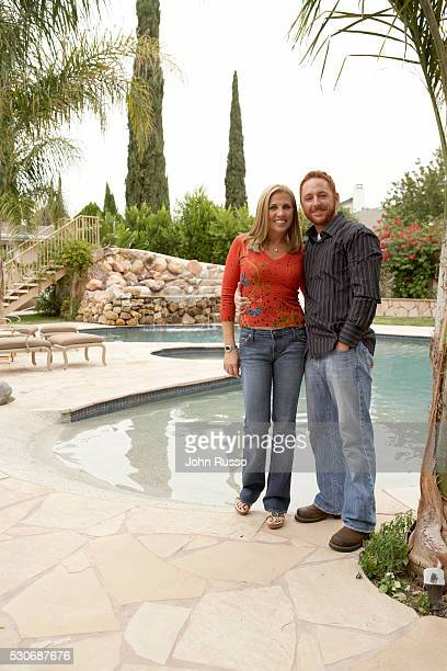 Scott Grimes at Home with Wife Dawn