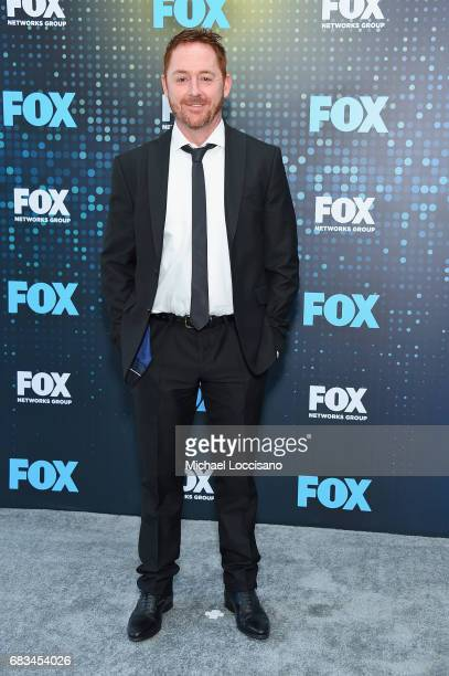 Scott Grimes attends the 2017 FOX Upfront at Wollman Rink, Central Park on May 15, 2017 in New York City.