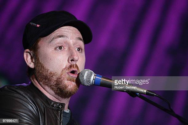 Scott Grimes from Band with TV performs at the grand opening of Loehmann's in Costa Mesa on March 13, 2010 in Costa Mesa, California.