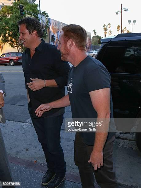 Scott Grimes is seen on September 21, 2016 in Los Angeles, California.