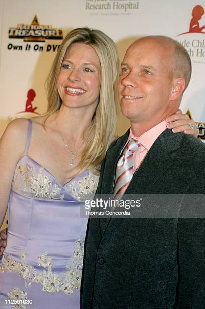 Scott Hamilton and wife Tracie during 3rd Annual Runway For Life Benefiting St Jude Children's Research Hospital Red Carpet at Beverly Hilton in...